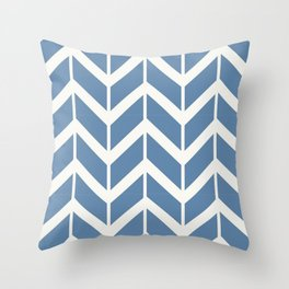 Dining in the Caymans Throw Pillow