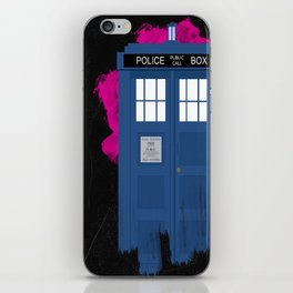 Time and Relative Dimension in Space iPhone Skin