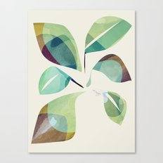 Loosey Goosey Leaves Canvas Print