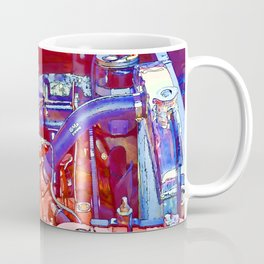 Vehicle engine close up Coffee Mug