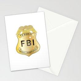 FBI Badge Stationery Cards