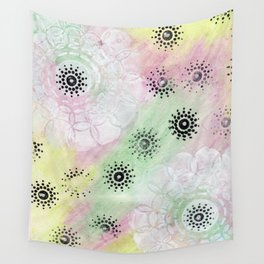 Pastel background Wall Tapestry