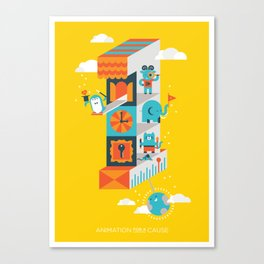 One minute Canvas Print