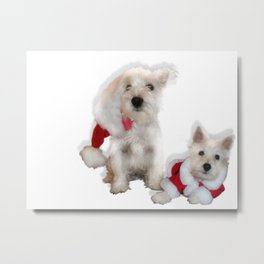 Mommy Claus Metal Print