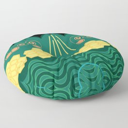 Rainforest HARMONY pattern Floor Pillow