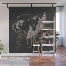 Night falling  Wall Mural