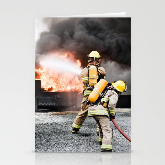 Firefighting Stationery Cards