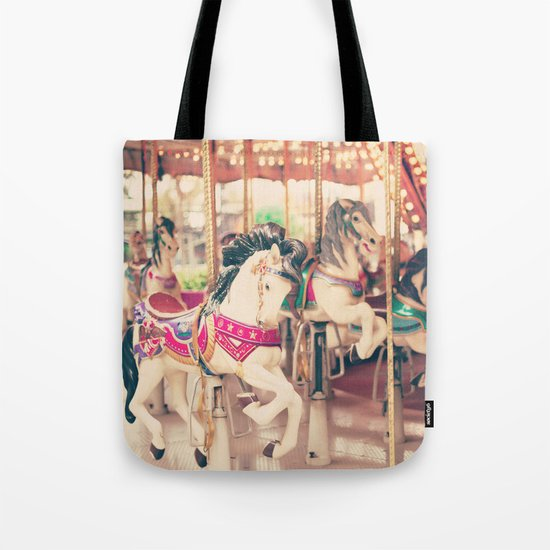 Galloping On Tote Bag