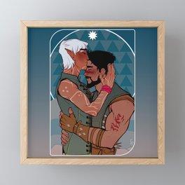 The Lovers Framed Mini Art Print