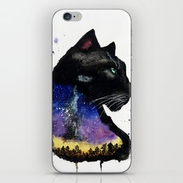 Galaxy Panther iPhone Skin