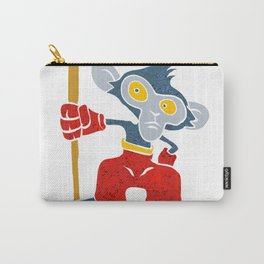 Warrior Monkey Carry-All Pouch
