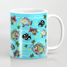 Dead Fish Society Coffee Mug