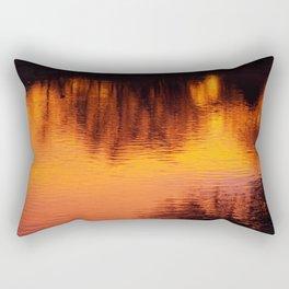 BURNING SUNRISE Rectangular Pillow