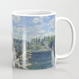 Auguste Renoir Pont Neuf, Paris 1872 Painting Coffee Mug