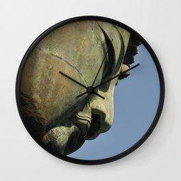 Daibutsu Buddha Wall Clock