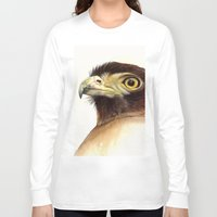 eagle Long Sleeve T-shirts featuring eagle by Alessandra Razzi Illustrazioni