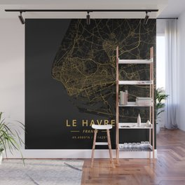 Le Havre, France - Gold Wall Mural