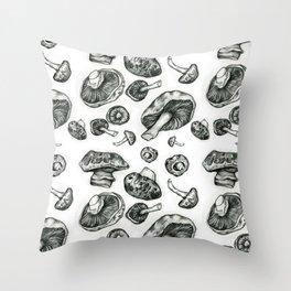 Fungi pattern Throw Pillow