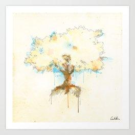 + Watercolor Tree + Art Print