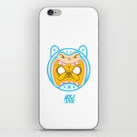 finn and jake iPhone & iPod Skins featuring Finn & Jake by Miguel Manrique