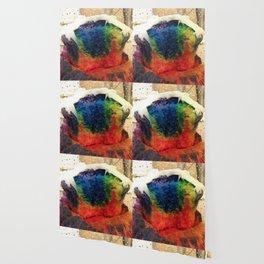 Tie Dye Cupcake Wallpaper
