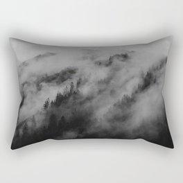 foggy feels Rectangular Pillow