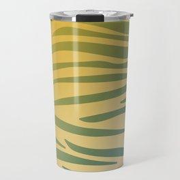gold design exotic lines blocks Travel Mug