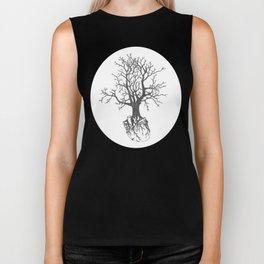 Out by the Roots Biker Tank
