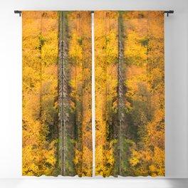 Autumn Reflection Blackout Curtain