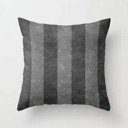 Grey Stripes Throw Pillow
