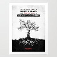 Hannibal - Futamono Art Print