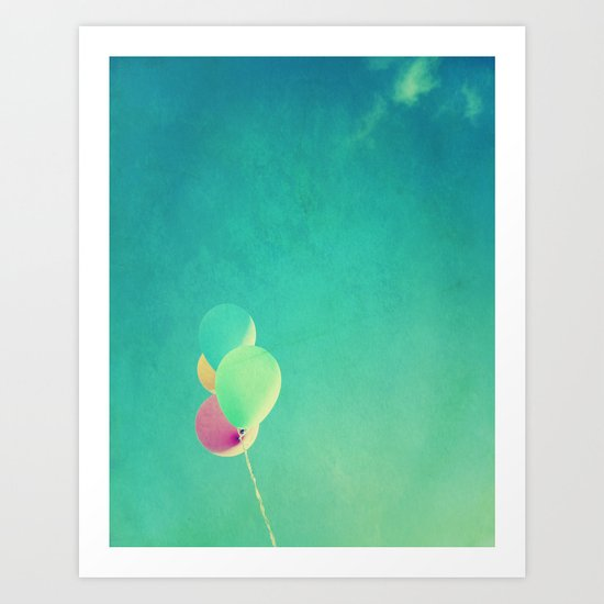 The High Life | Balloons Afloat  Art Print