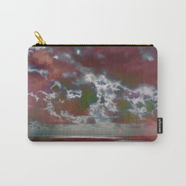 Pink Seas and Clouds Carry-All Pouch