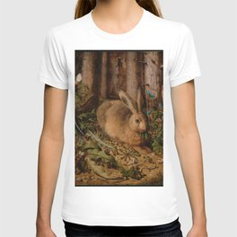A Hare In The Forest Hans Hoffmann T-shirt