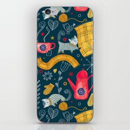 Pattern #71 - Hygge - Cosy winter iPhone Skin