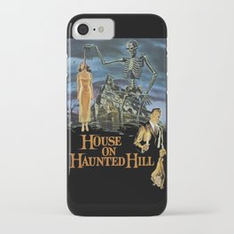 House On Haunted Hill, 1959 Campy Horror Movie iPhone Case