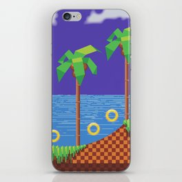 Retro Video game iPhone Skin