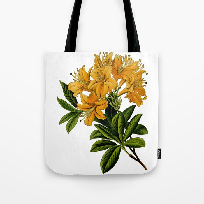 Herbal Flowers Tote Bag