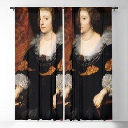 Anthony van Dyck - Amalia de Solms-Braunfels Blackout Curtain