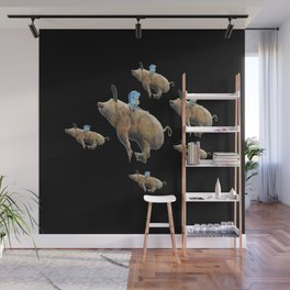 When Pigs Fly Wall Mural
