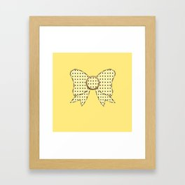 lonely bows 4 Framed Art Print