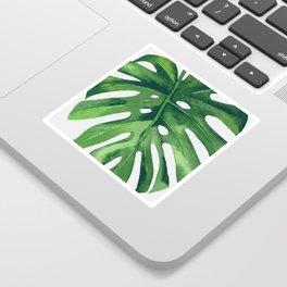 Monstera Leaf Sticker