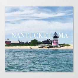 Brant Point Lighthouse Nantucket Canvas Print