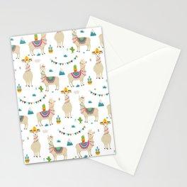 Llama Party Stationery Cards