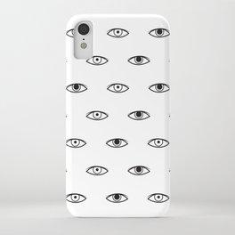 Eyes - David Bowie iPhone Case