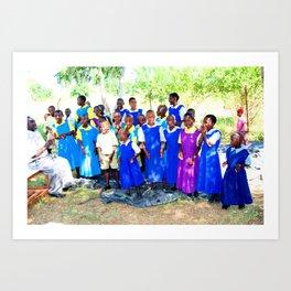 Kenya / Kitui Orphans Art Print