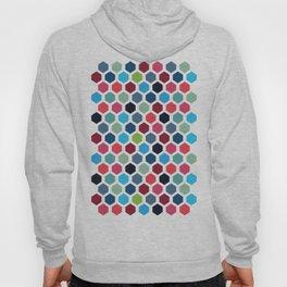 Multi-Color Geometric Pattern Hoody