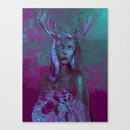 Fawn (Alternative Version) Canvas Print