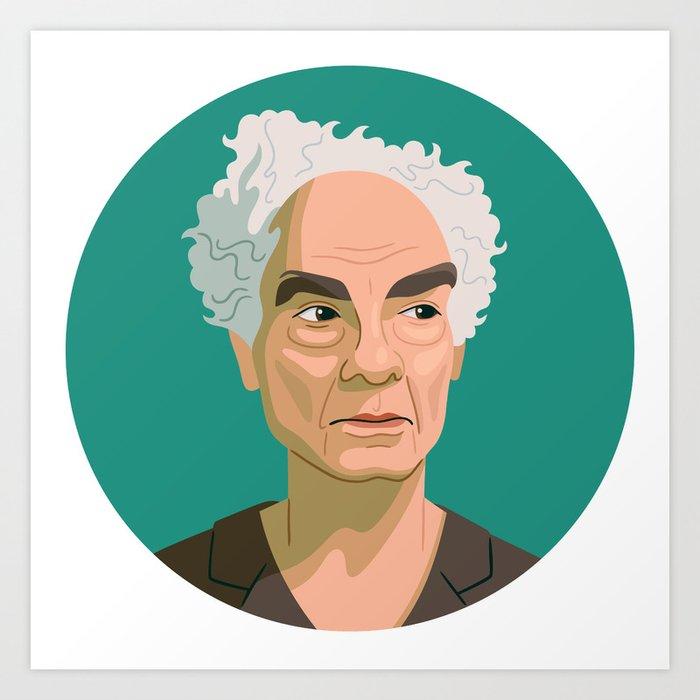Queer Portrait - Merce Cunningham Art Print
