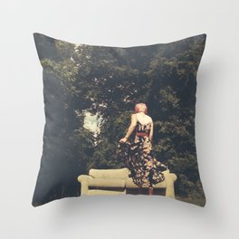 Room(s) With a View Throw Pillow